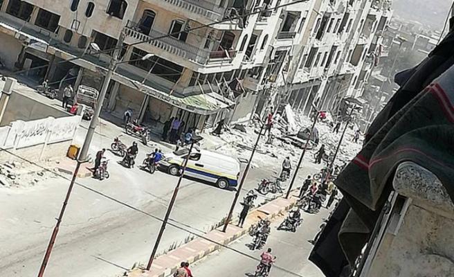 İdlib'de sivillere saldırı, 2 sivil öldü