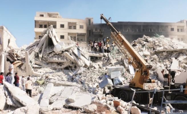 İdlib'de şüpheli patlama