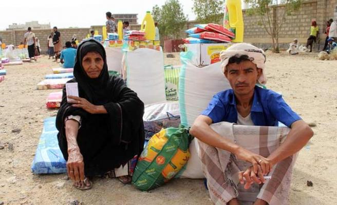 İHH Yemen'de 55 bin aileye yardım götürdü
