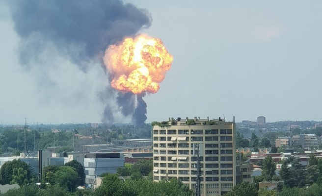 İtalya Bologna Havaalanı yanında patlama