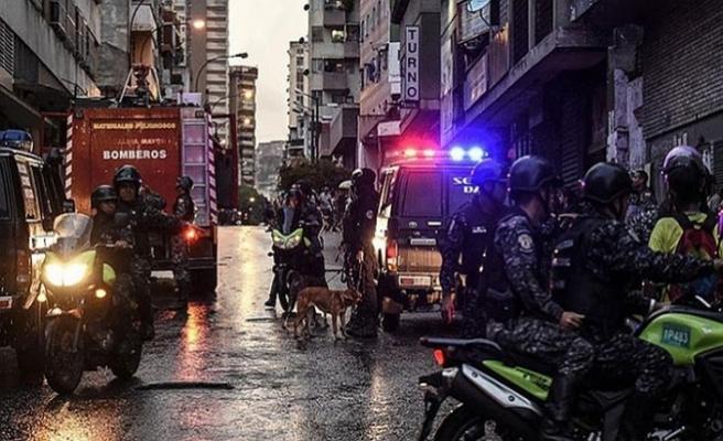 Maduro'ya suikast girişiminde 6 gözaltı