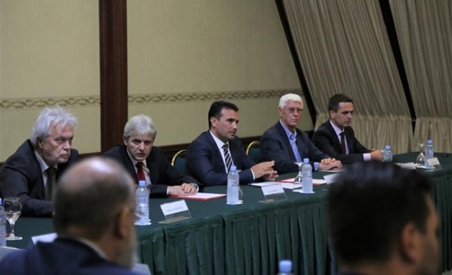 Makedonya Başbakanı Zaev, destek arayışında