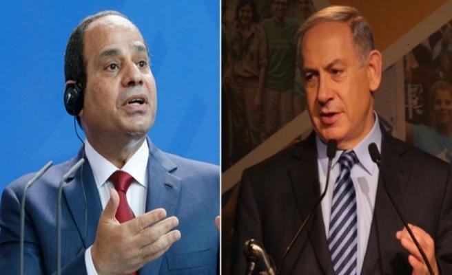 Netanyahu ile Sisi'den Gazze planı