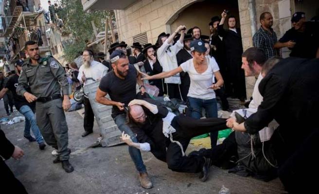 Ortodoks Yahudiler İsrail polisi ile çatıştı