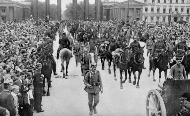 TARİHTE BUGÜN: Almanya Rusya'ya Savaş İlan Etti