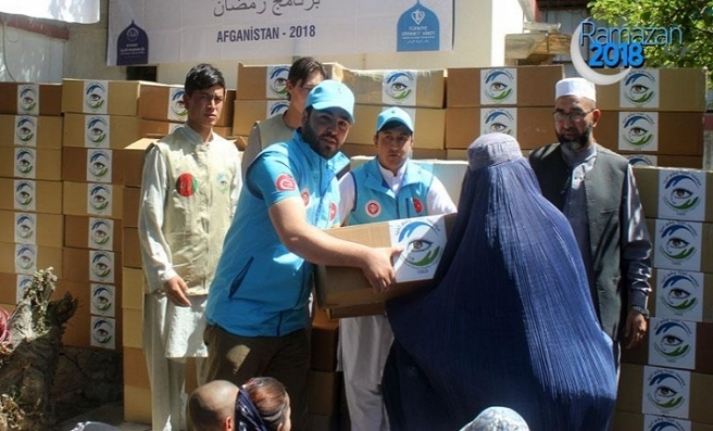 TDV'den Afganistan'da 19 bin aileye kurban eti