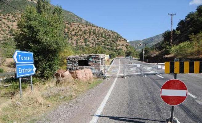 """Tunceli'de 31 bölge """"özel güvenlik bölgesi"""" ilan edildi"""