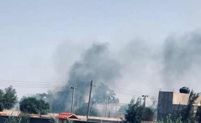 ABD'nin Trablus Büyükelçiliği çevresinde yangın çıktı