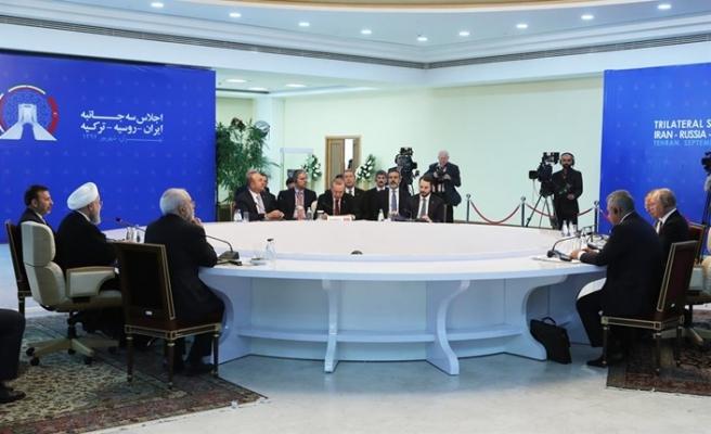Tahran Üçlü Suriye Zirvesi