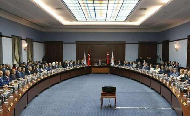 AK Parti MKYK sona erdi, ilk açıklama konusu : İttifak