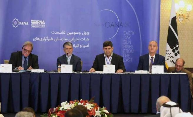 Asya-Pasifik Haber Ajansları Tahran'da toplandı