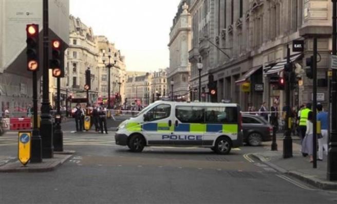 BBC önünde şüpheli araç