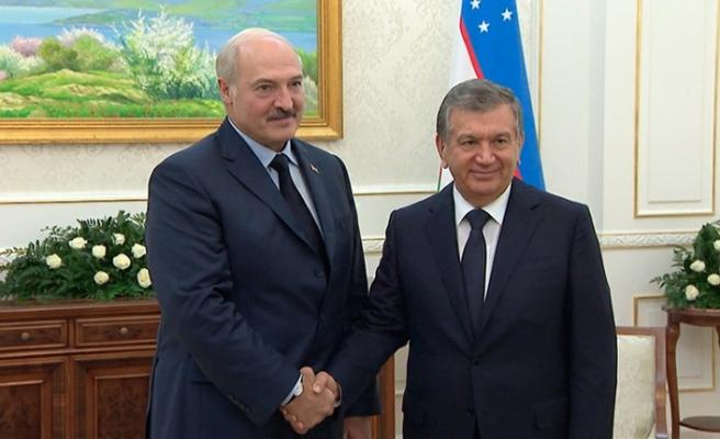 Belarus Cumhurbaşkanı yıllar sonra Özbekistan'da