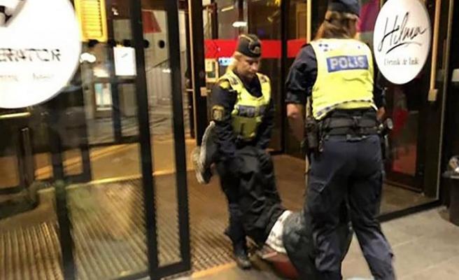 Çin'den İsveç polisine sert tepki