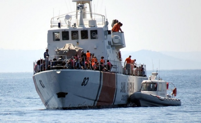 Enez'de düzensiz göçmen faciası