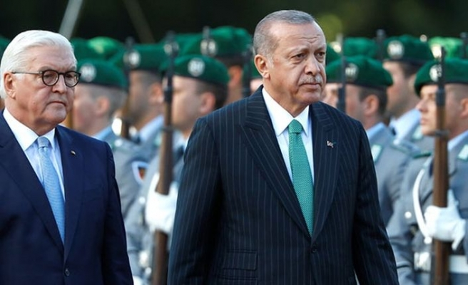 Erdoğan'dan Alman cumhurbaşkanına sert tepki