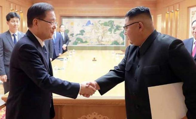 Güney Kore ile Kuzey Kore'den barışa doğru yeni bir adım
