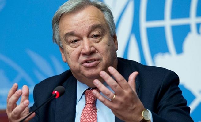 Guterres'den 'nükleer denemeleri' mesajı