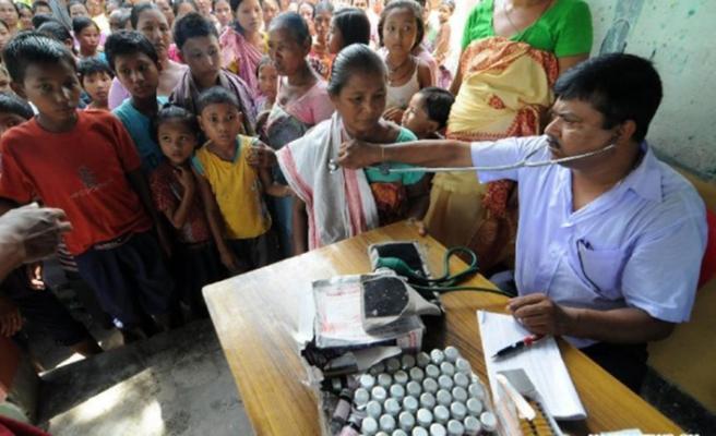 Hindistan'da fakirler ölümün kıyısında