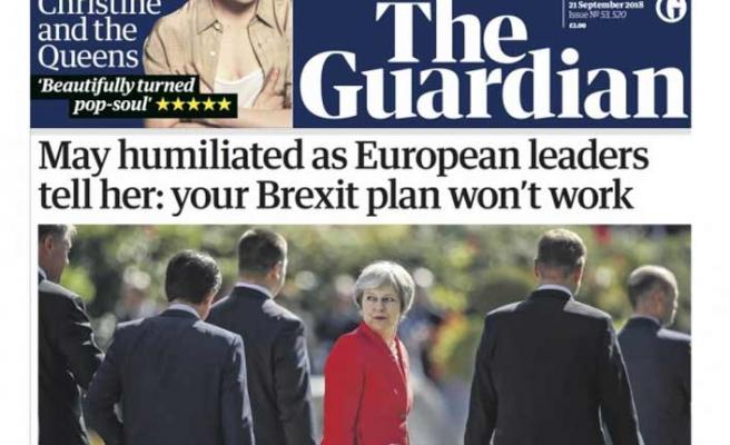 İngiliz basını Theresa May'i yerden yere vurdu