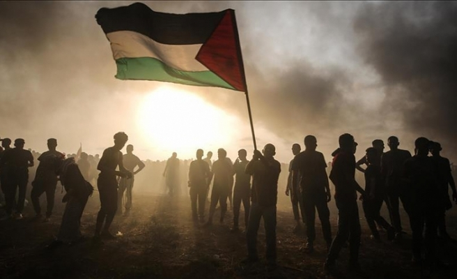 İsrail Gazze sınırında 11 Filistinliyi yaraladı
