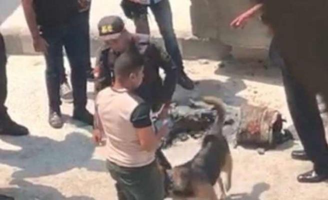 Kahire ABD Elçiliği önünde patlama meydana geldi