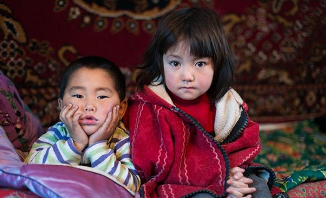 Kırgızistan'da çocukların öğrenim sorunu