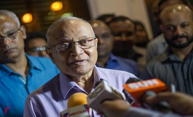 Maldivler eski devlet başkanı serbest bırakıldı