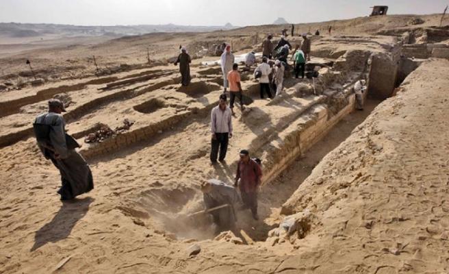 Arkeologlar, Nil Deltası'nda yeni keşfettiler