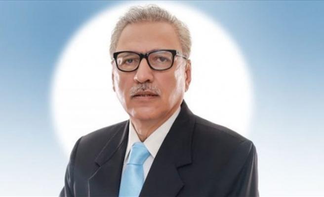 Pakistan'ın yeni Cumhurbaşkanı yemin ederek görevine başladı