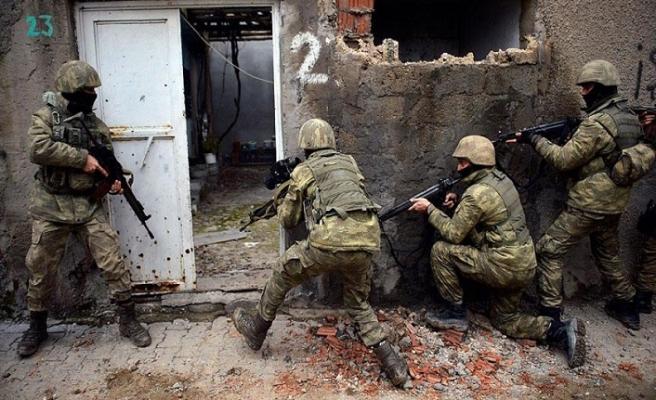 Şırnak'ta PKK'ya ait silahlar bulundu