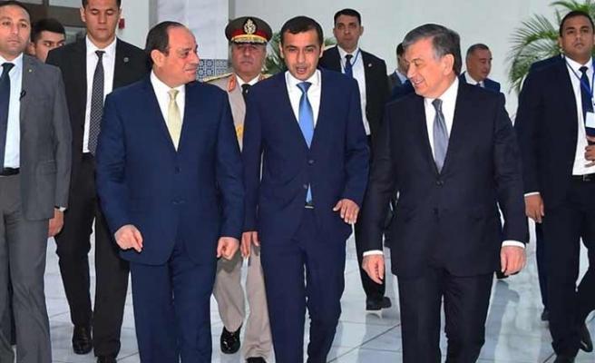 Sisi, Özbekistan ile bir dizi anlaşma imzaladı