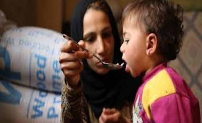 5,5 milyon Suriyeli açlıkla karşı karşıya