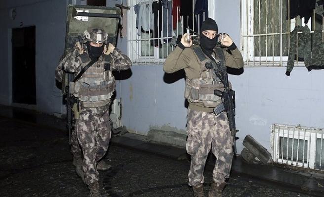 8 ilde 90 PKK'lı gözaltına alındı
