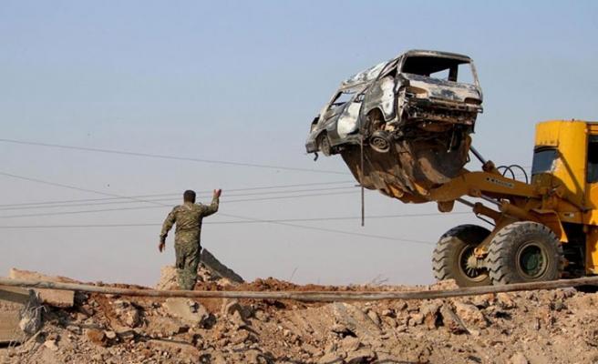 ABD'den YPG'ye iş makinesi desteği