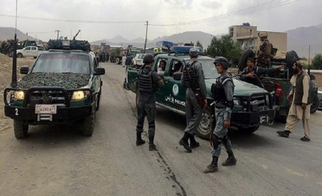 Afganistan'da polis noktası hedef alındı