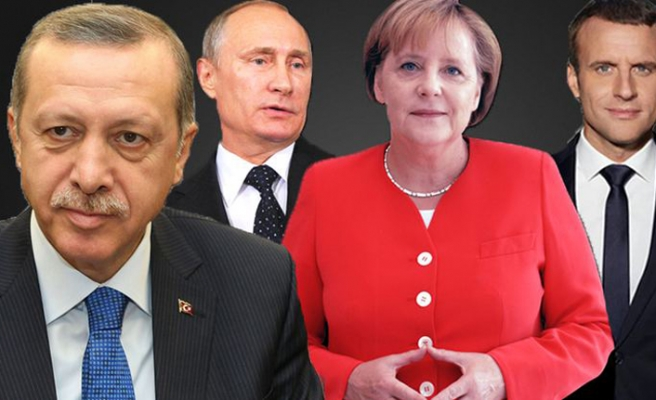 Almanya, Rusya ve Fransa liderleri yarın Türkiye'de