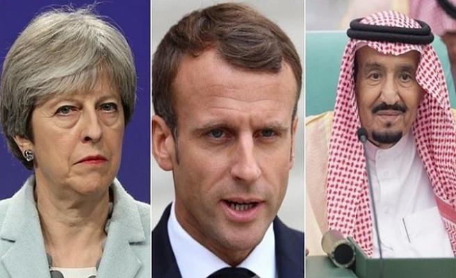 Avrupalı liderler Suudi Kralı'nı aradı