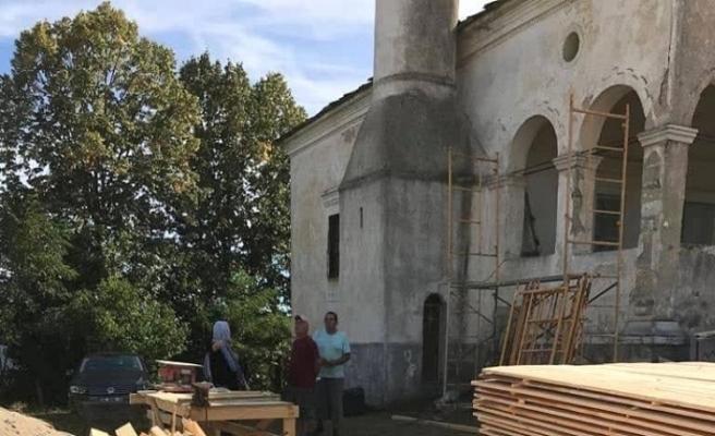 Bulgaristan'da 200 yıllık cami restore ediliyor