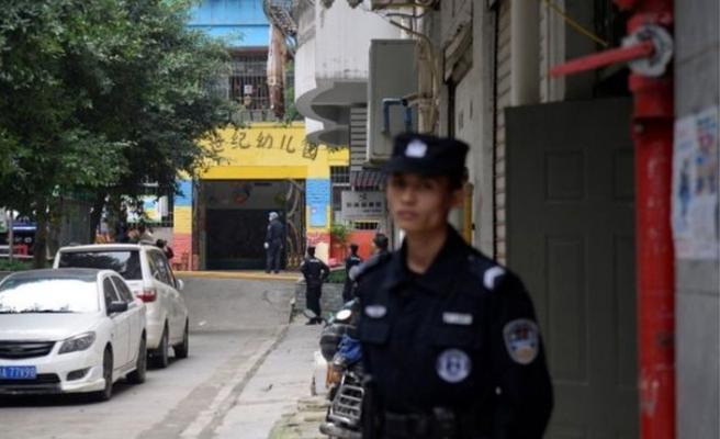 Çin'de anaokulu çocuklarına bıçaklı saldırı, 14 çocuk yaralı