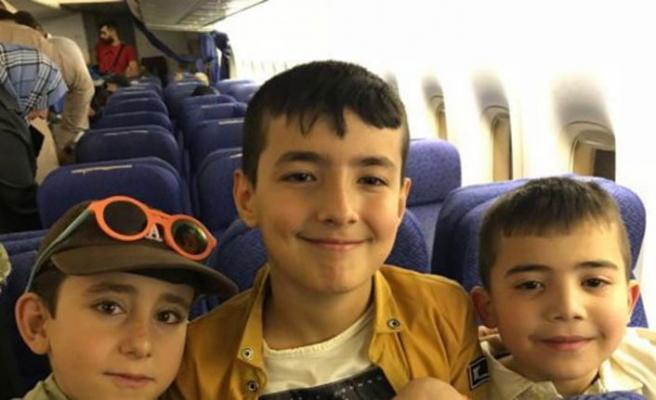 Çocuklar Irak'tan getirildi