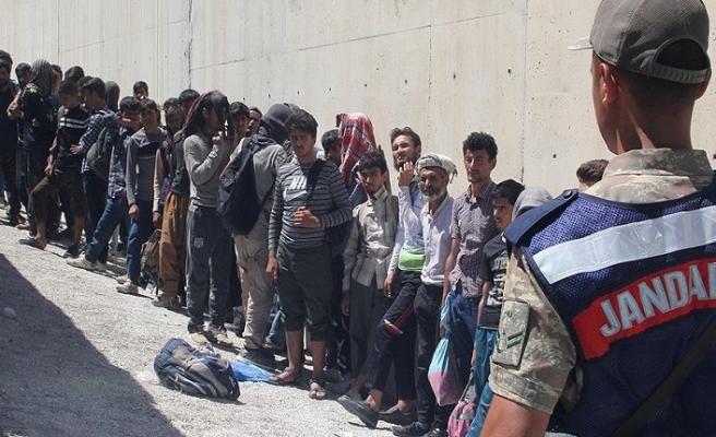 Edirne'de göçmen operasyonu