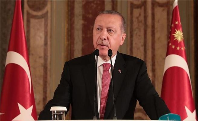 Erdoğan adalet talebini yineledi