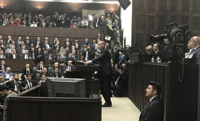 """Erdoğan'dan Bahçeli'ye """"Herkes kendi yoluna"""""""