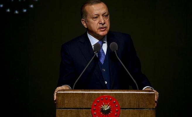 Erdoğan: Şehitlerin kanını yerde bırakmayacağız