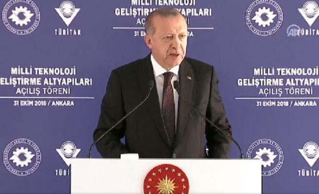 Erdoğan: SİPER hayırlı olsun