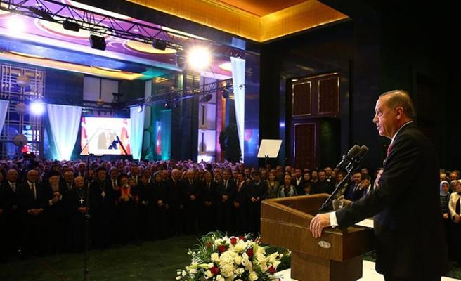 Erdoğan yeni akademik yıl açılışında konuştu