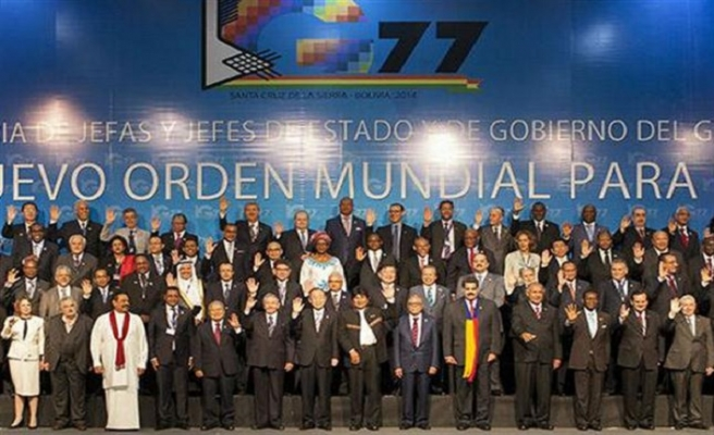 Filistin 'G77+Çin Grubu'na başkanlık edecek