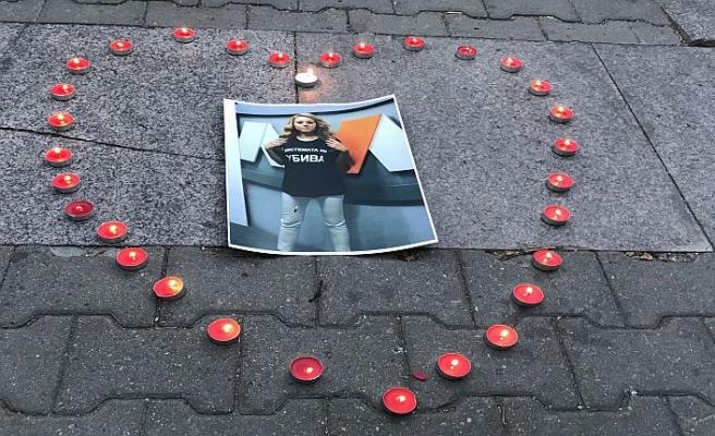 Gazeteci cinayeti protesto edildi