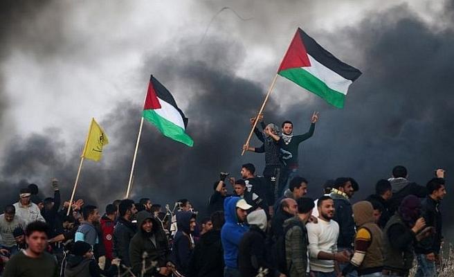 Gazze'de biri çocuk iki Filistinli şehit oldu